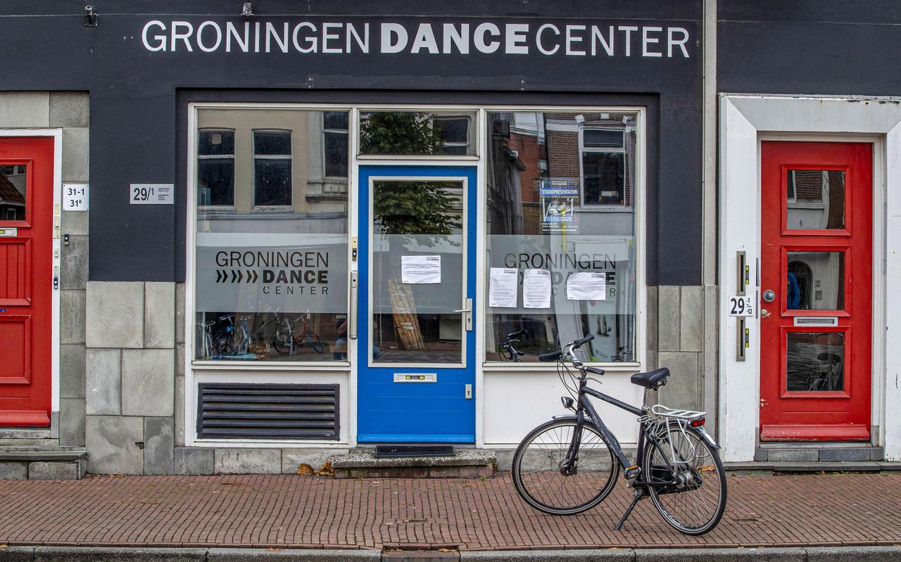 Het Groningen Dance Center toen het nog in gebruik was.
