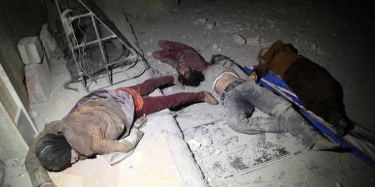 Russen: onderzoek gifgas Douma woensdag