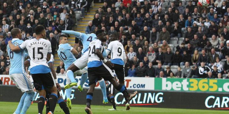 Newcastle houdt Manchester City op 1-1