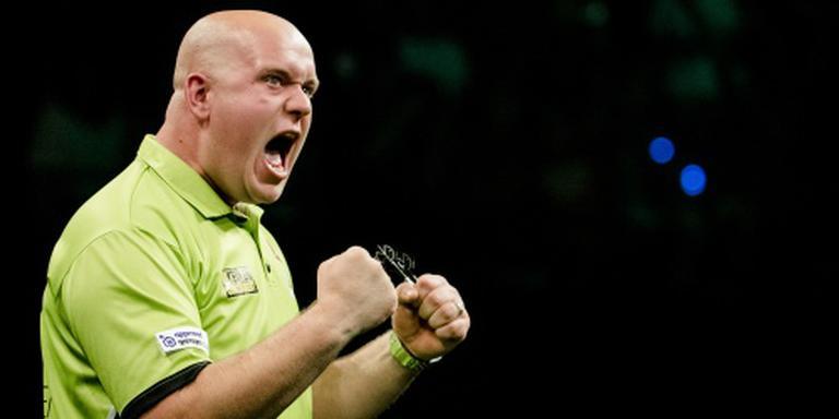 Van Gerwen wint Perth Masters