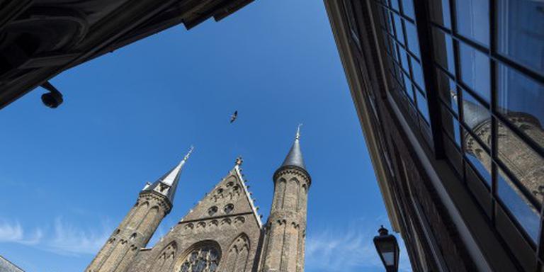 'Troonrede tijdelijk in de Grote Kerk'