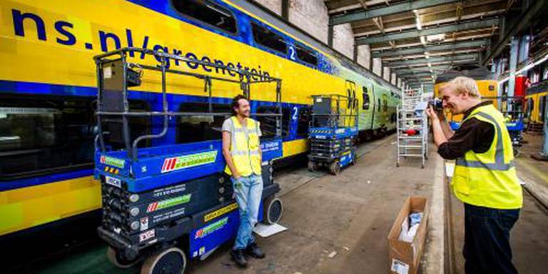Treinen NS rijden jaar eerder op groene stroom