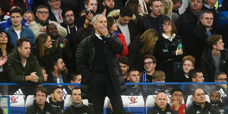 Afgang voor Mourinho tegen Chelsea