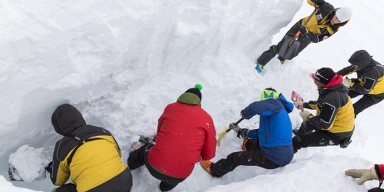 Vijf doden door enorme lawine in Tirol