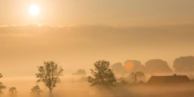 Waarschuwing voor plaatselijk dichte mist