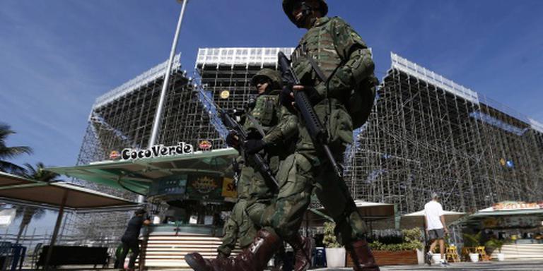 Braziliaanse leger strijkt in Rio neer