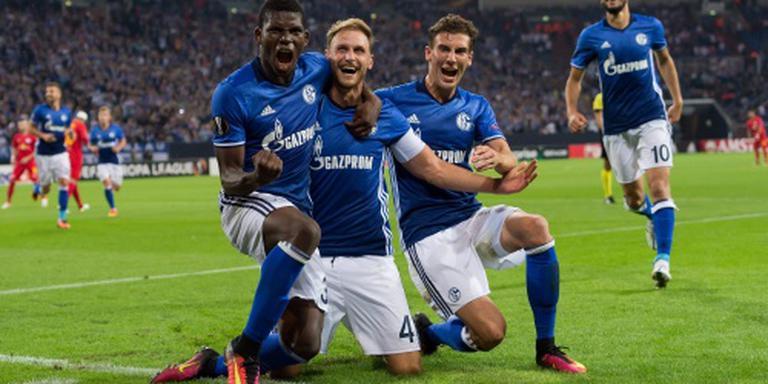 Schalke presteert wel in Europa
