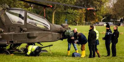 Piloten Apache niet vervolgd om raken kabels