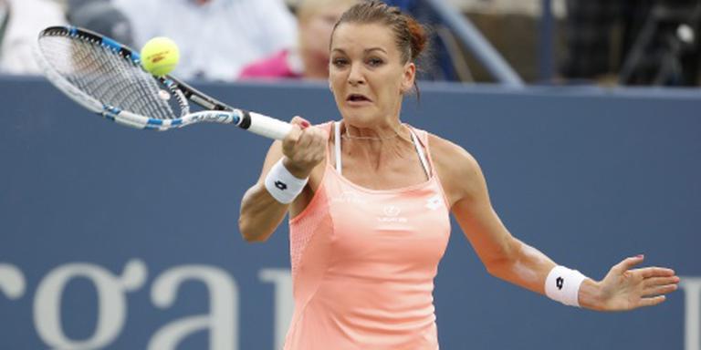 Radwanska door naar derde ronde US Open