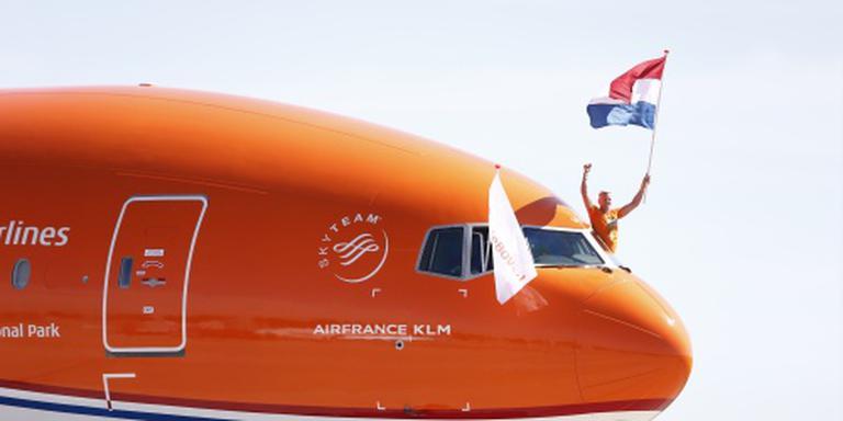 Olympische sporters terug in Nederland