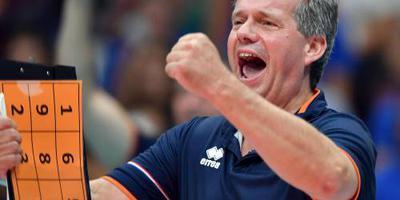 Volleyballers sluiten af met nederlaag