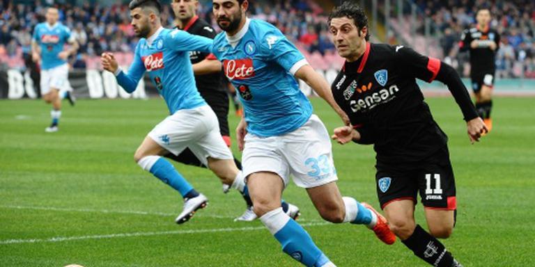 Spaanse verdediger Albiol langer bij Napoli