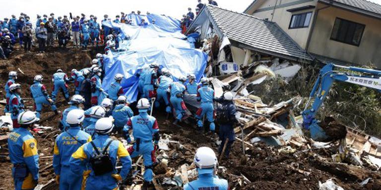 Aantal doden aardbevingen Japan loopt op