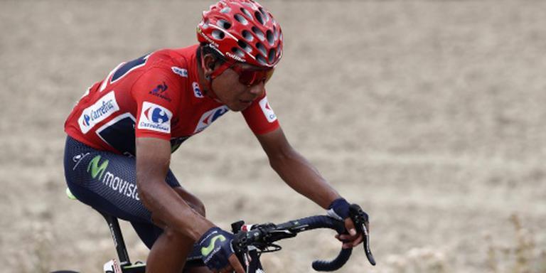 Quintana neemt voorschot op eindzege Vuelta