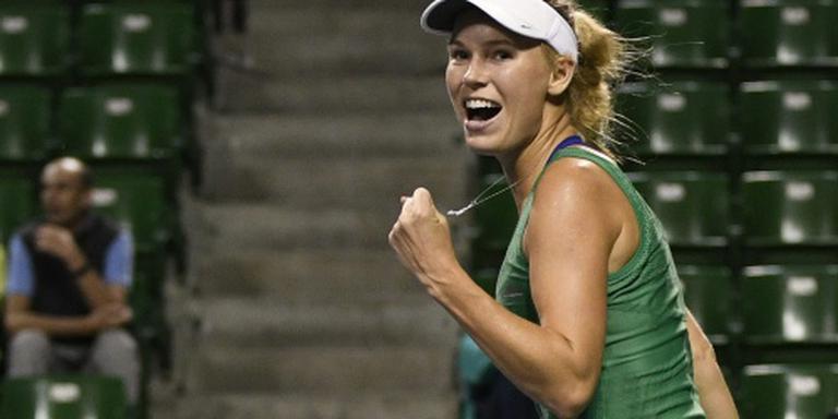 Tennisster Wozniacki verslaat Radwanska