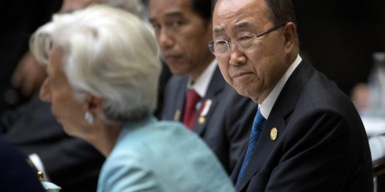 Ban Ki-moon wil eind aan escalatiespiraal