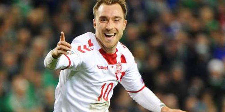 Eriksen leidt Denemarken naar WK