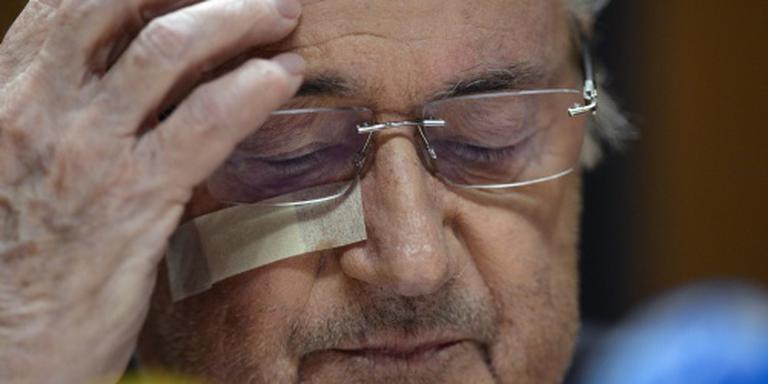 Blatter: de FIFA heeft mij verlaten