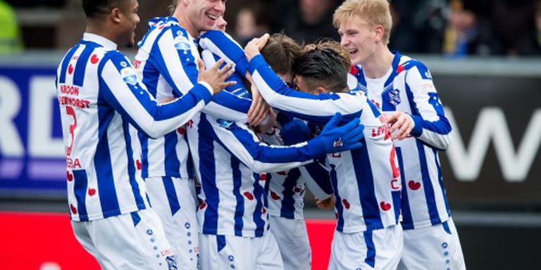 Heerenveen wint derby bij SC Cambuur