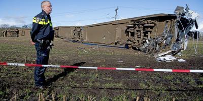 OVV onderzoekt treinongeluk Dalfsen