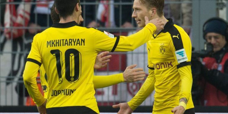 Dortmund blijft in spoor Bayern