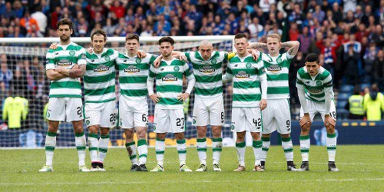 Celtic wint vijfde Schotse titel op rij