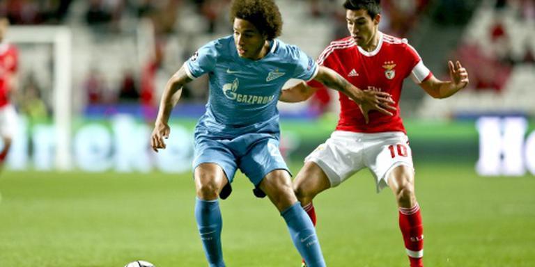 Benfica in blessuretijd langs Zenit: 1-0