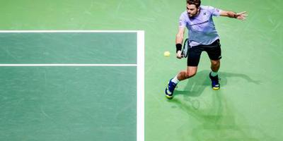 Wawrinka in finale ABN AMRO-toernooi