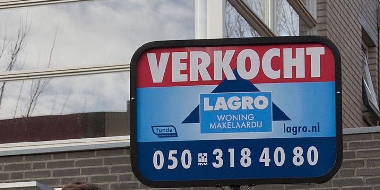 Huizenverkoop Groningen en Drenthe blijft plussen
