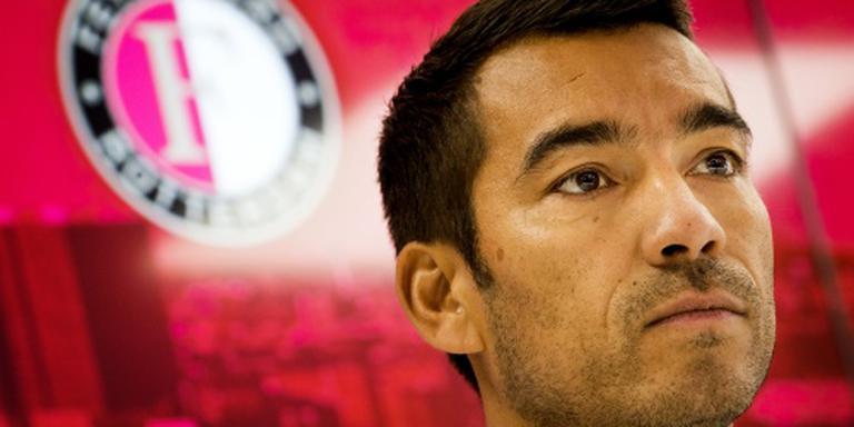 Van Bronckhorst schrok even van Feyenoord