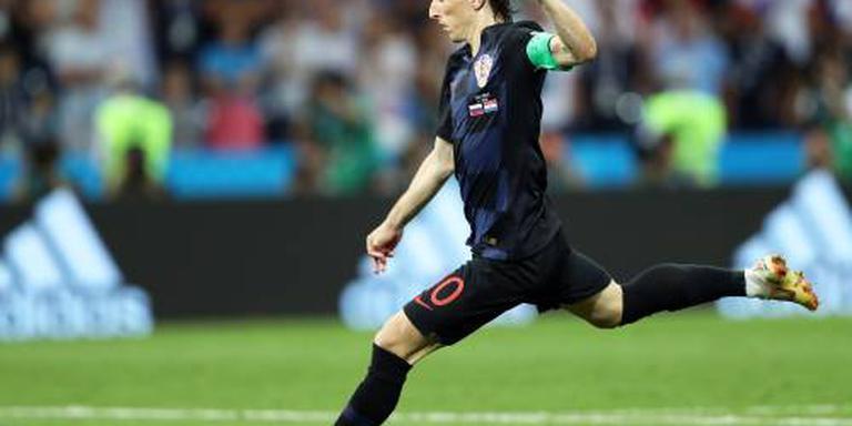 Aanvoerder Modric: weer karakter getoond