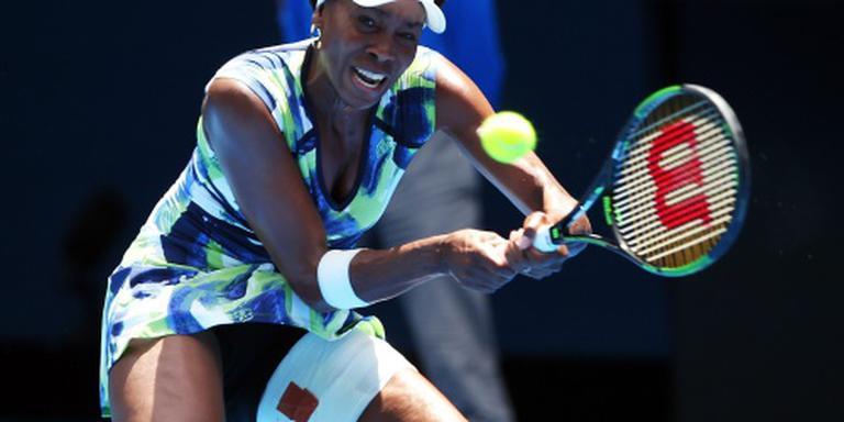 Australian Open eindigt voor Venus Williams