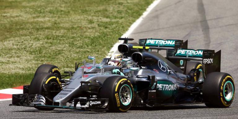 Hamilton en Rosberg allebei vrijuit