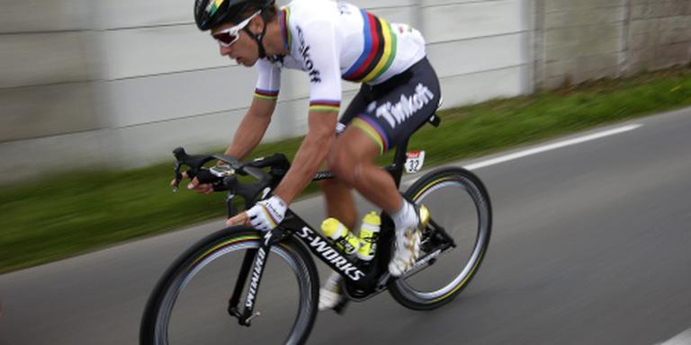 Ritzege en geel voor Sagan in Tour