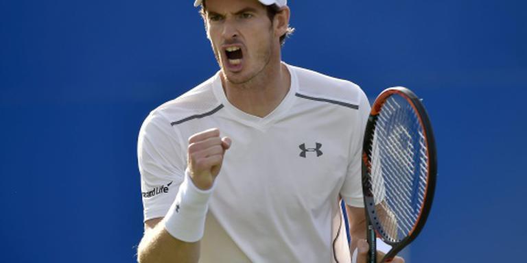Murray verslaat Mahut in Londen