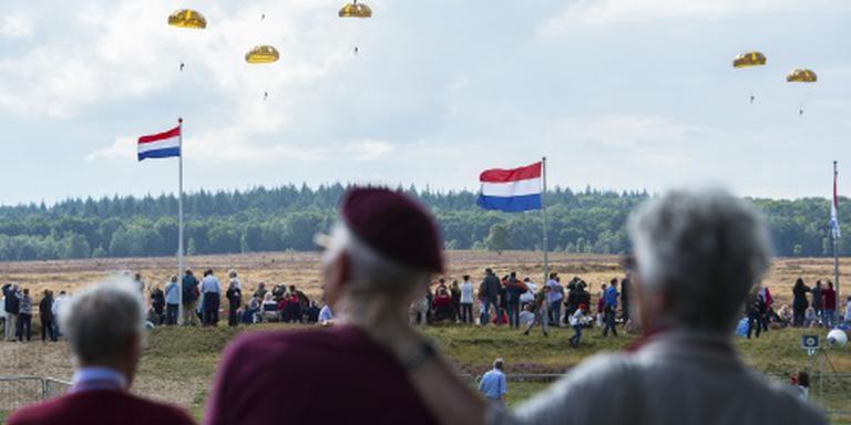 Grote drukte rond Arnhem bij Airbornemars