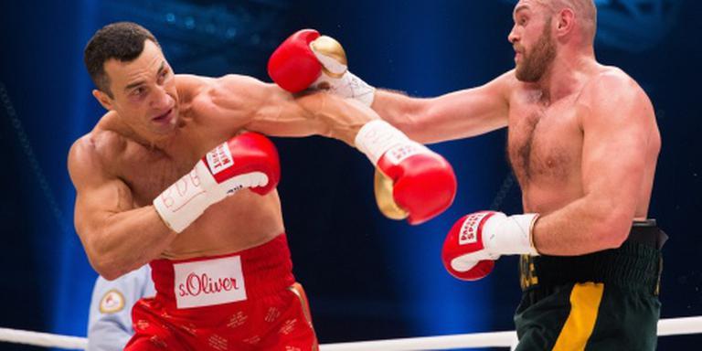 Klitsjko: Fury haalt bokssport door het slijk