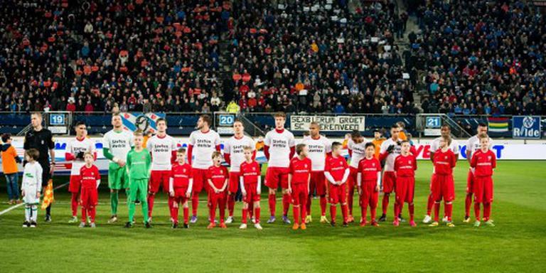 Spelers Twente wensen Thesker sterkte