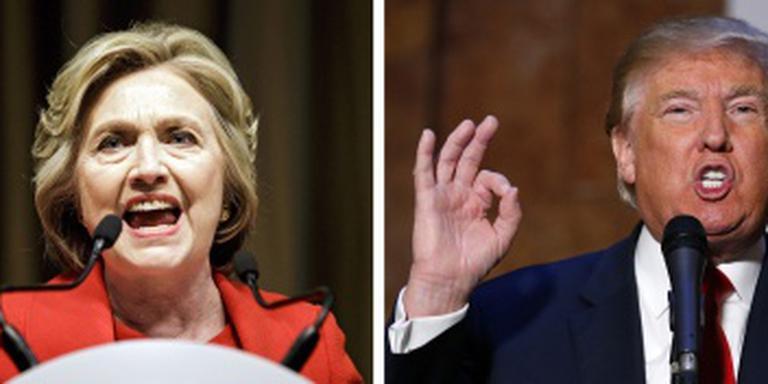 Trump nadert Clinton in peiling