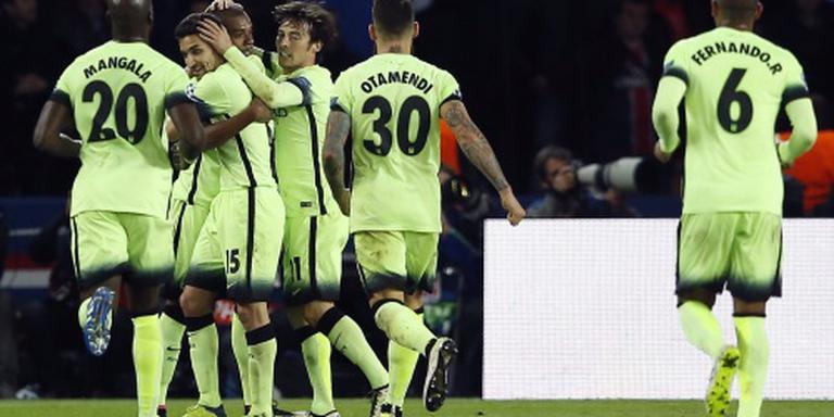Paris SG gelijk tegen Manchester City: 2-2