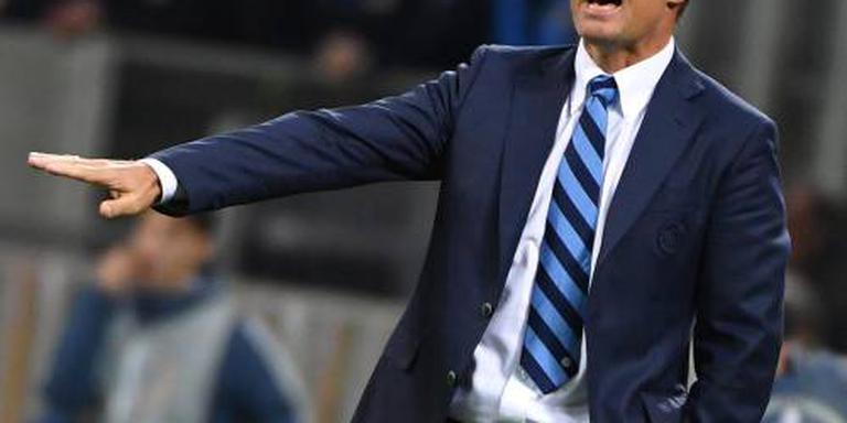 De Boer voelt zich nog gesteund bij Inter