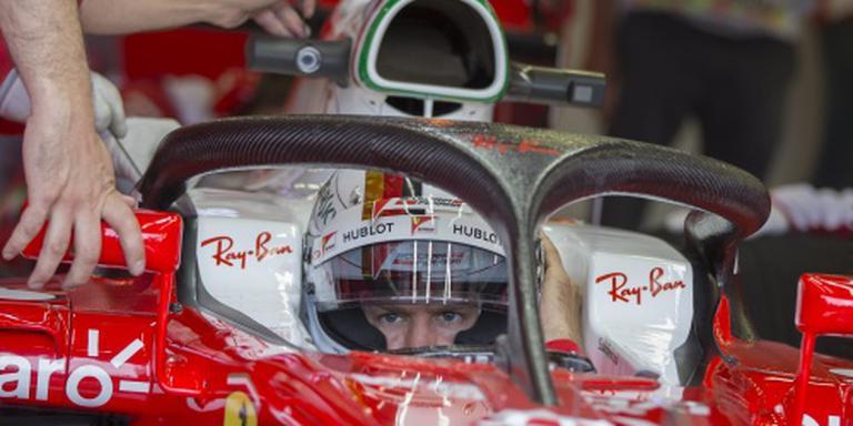 Opnieuw straf voor Vettel