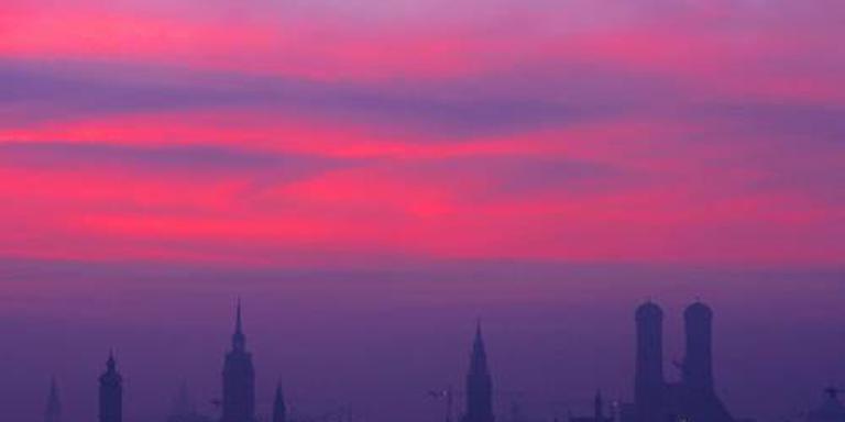 Drone ramt Olympiatoren in München