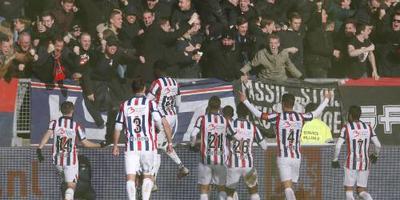 Willem II wint ook zonder topscorer Sol
