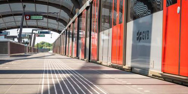 Amsterdamse Noord-Zuidlijn gaat rijden