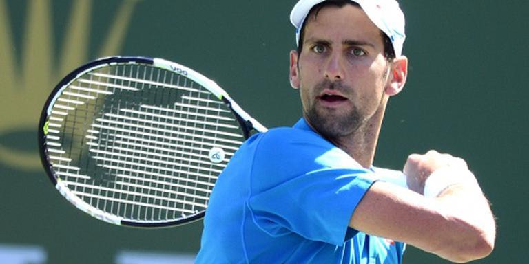 Djokovic op voor vijfde titel in Indian Wells