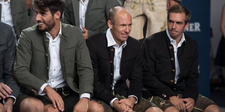 Ancelotti houdt Robben op de bank