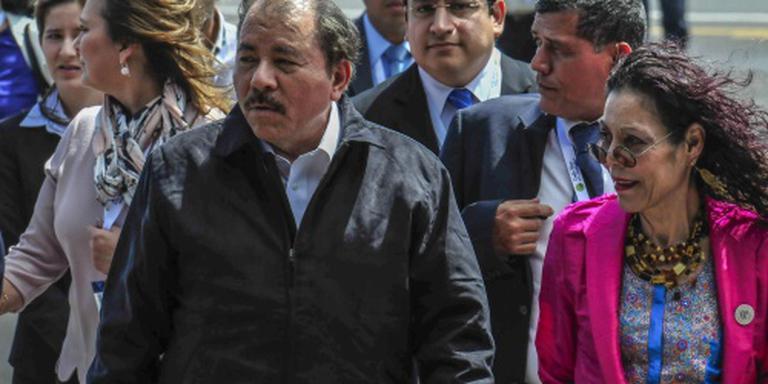 Leider Nicaragua kiest vrouw als running mate