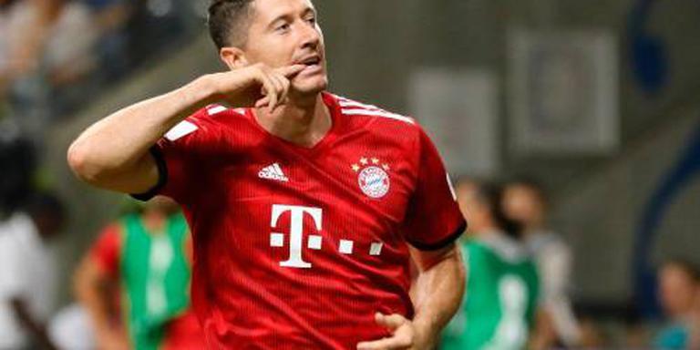 Lewandowski leidt sterk Bayern naar Supercup