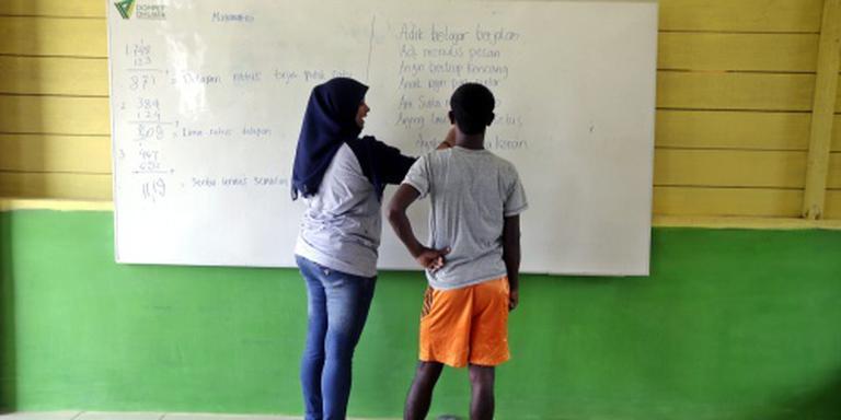 Vluchtelingenkinderen lang niet naar school
